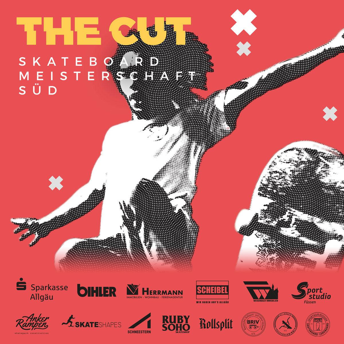 THE CUT | Offizielle Regionalmeisterschaft Süddeutschland | Street Skateboarding | Füssen, 08.06.2019