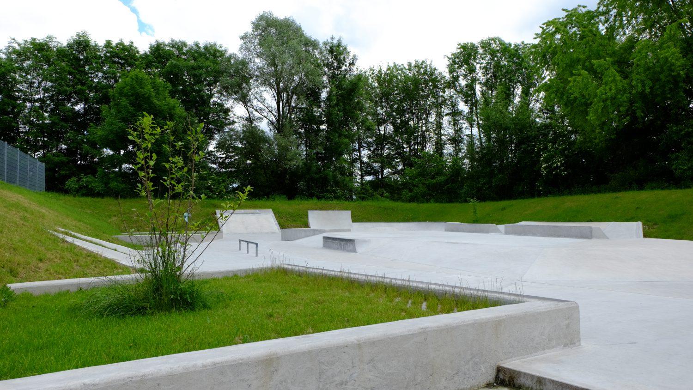 Skatepark Inningen/Augsburg, Übersicht 2016